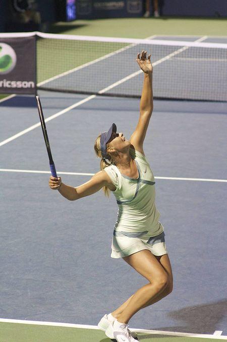 Sharapova And Stosur S Serves Compared Jim S Blog