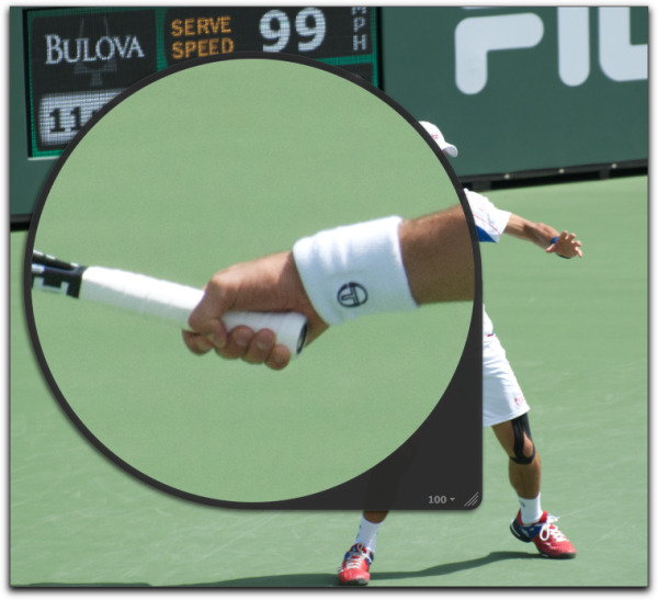 Close Up On Djokovic S Improved Forehand Jim S Blog