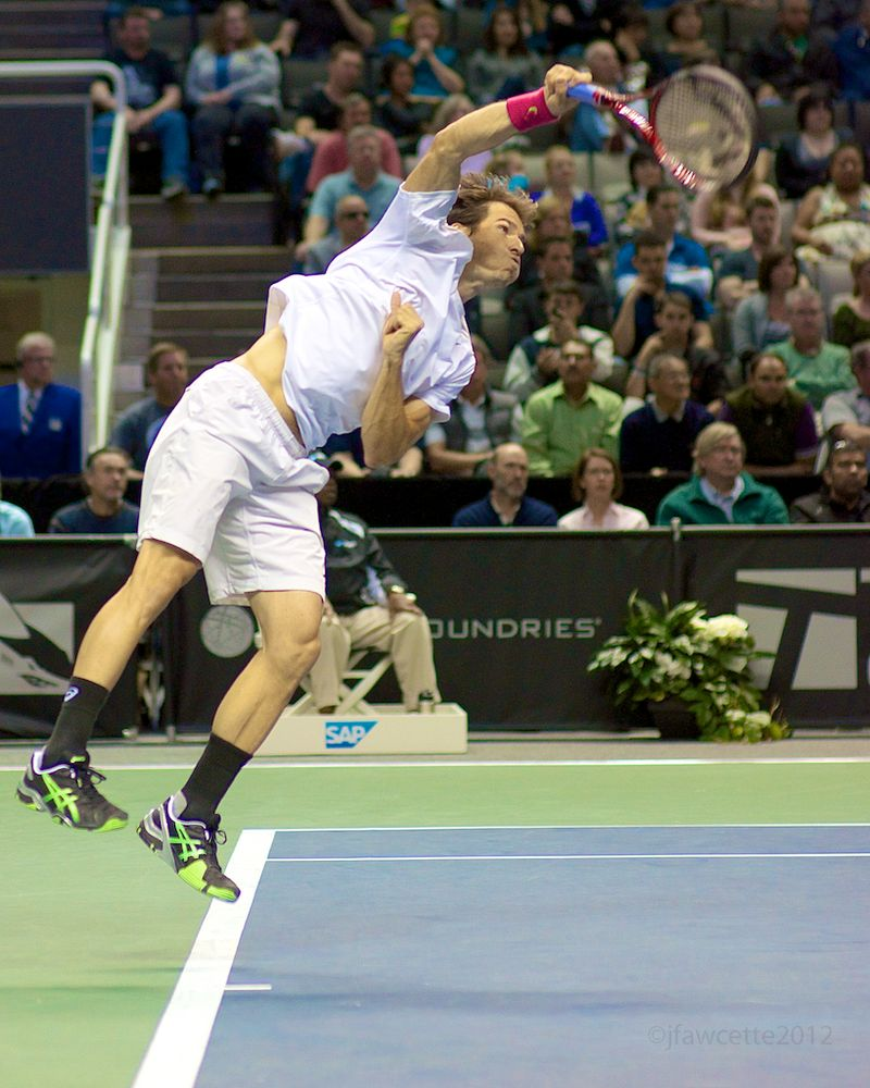 Tommy Haas Second Serve Forward ©jfawcette